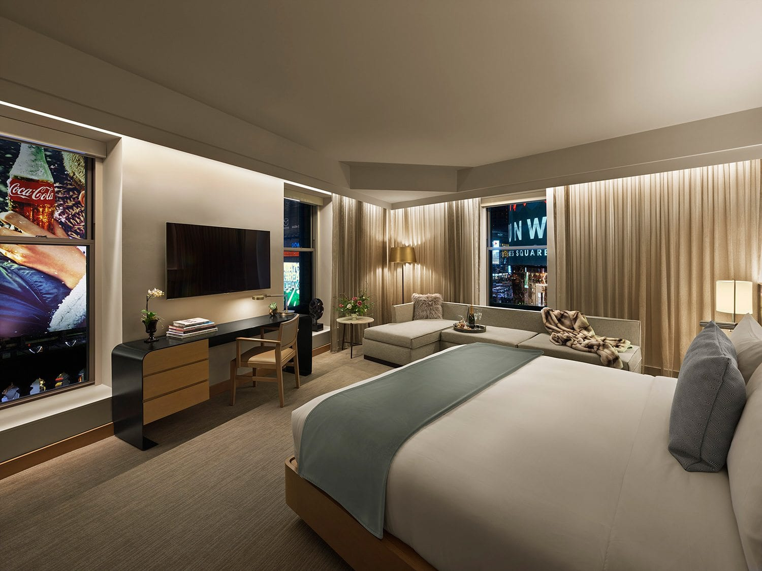 New Year's Eve in Times Square – Luxury Accommodations