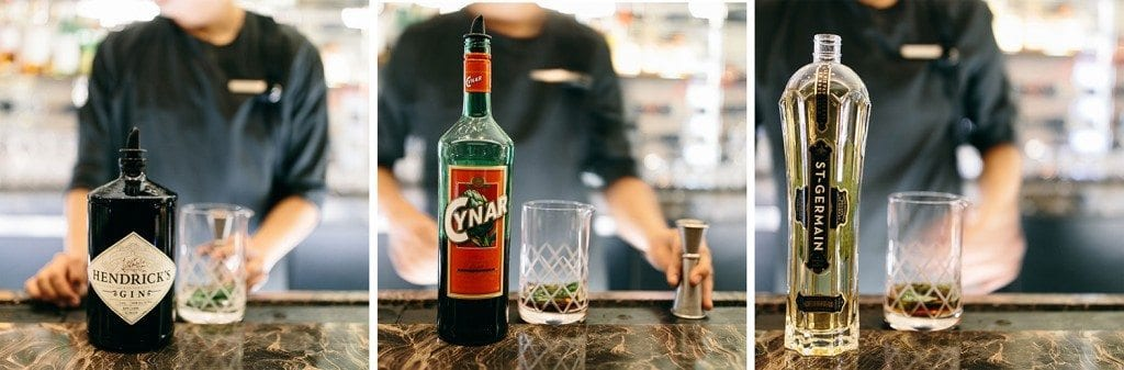 How to make the Green Negroni at Charlie Palmer at the Knick.