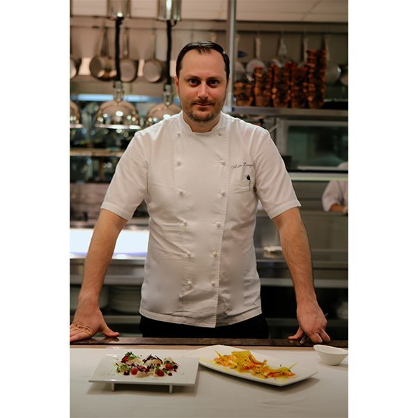 Chef Adin Langille joins the Hotel Knickerbocker.