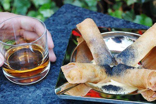 Chef Adin Langille's new cubano sandwich rolls at The Knickerbocker's St. Cloud rooftop bar.