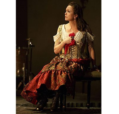 A photo by Joan Marcus of Diane Lane in The Cherry Orchard on Broadway from Roundabout Theatre Company.