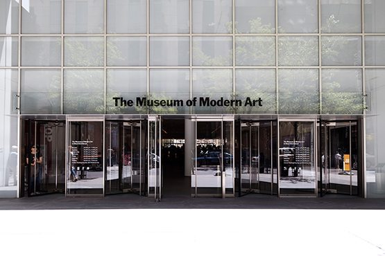 NYC art exhibitions in 2017 at the MoMA.