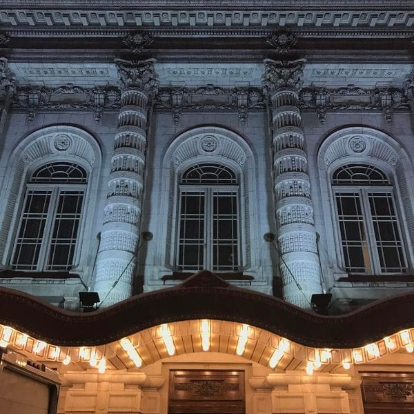 NYC Landmark in Midtown Lyceum Theatre by thewillseymour