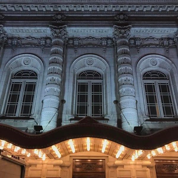 NYC Landmark in Midtown Lyceum Theatre by thewillseymour