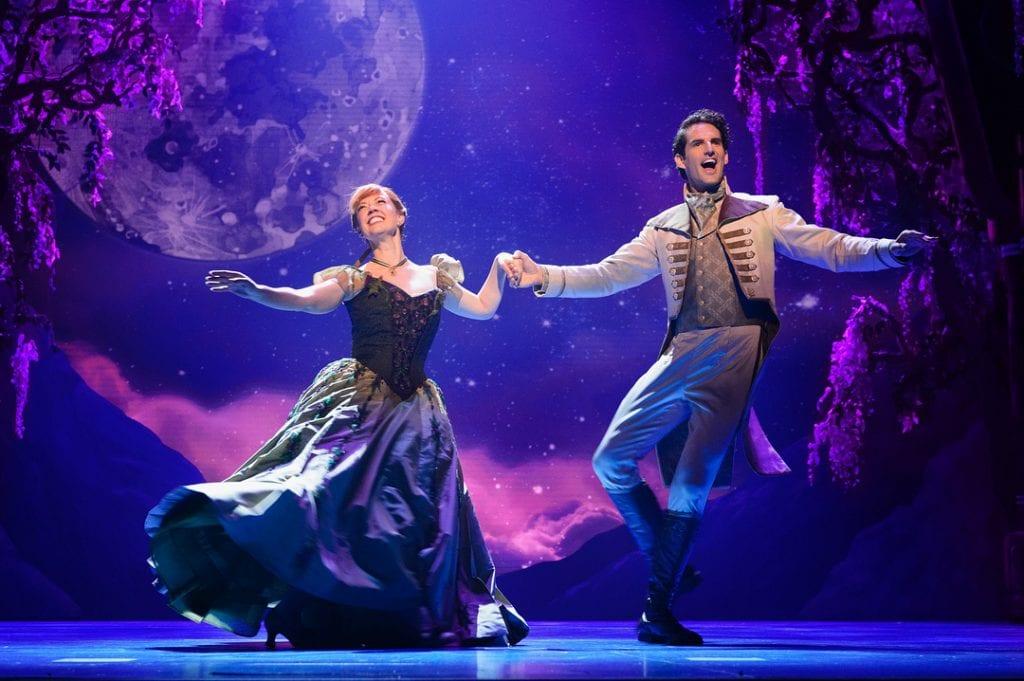 """Frozen Broadway's """"Love-is an Open Door,"""" via @frozenbroadway"""