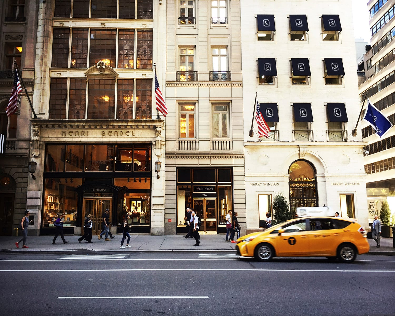Henri Bendel NYC Shopping Fifth Avenue