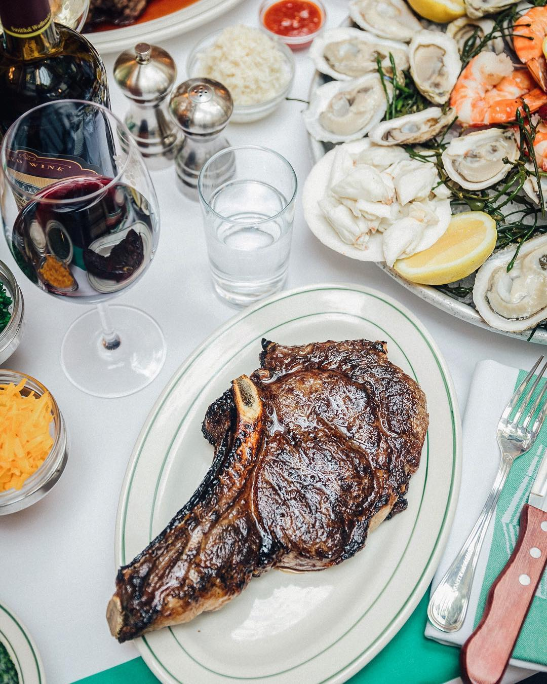 Smith & Wollensky in NYC is a classic steakhouse experience.